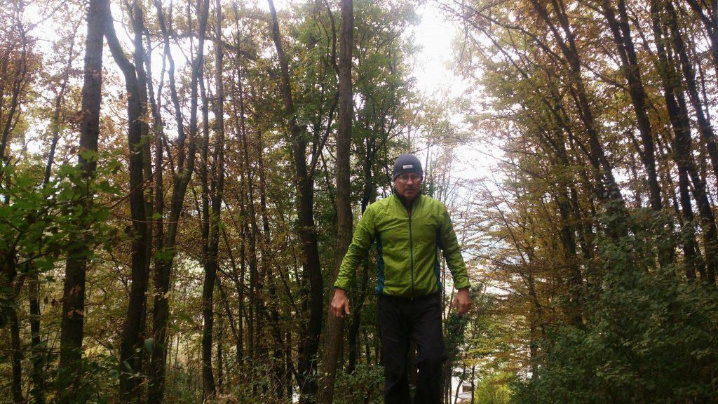 Zum ersten mal im Wald