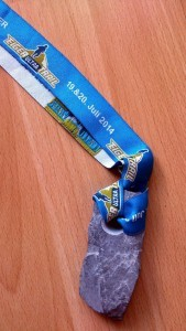 Eiger Ultra Trail Medaille