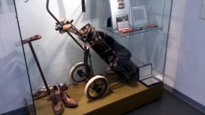 Golf Wagen von Heinrich Harrer