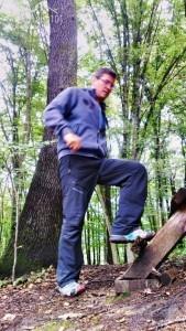 Übungen im Wald der Schöckl Region
