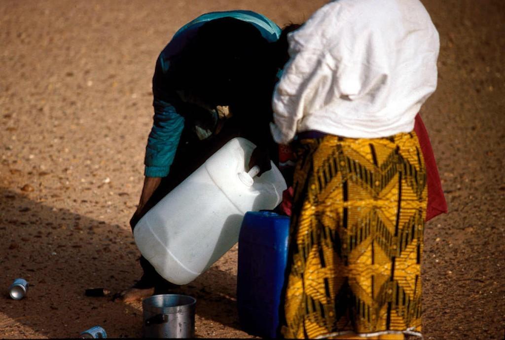 Wasser in der Wüste - sehr wertvoll