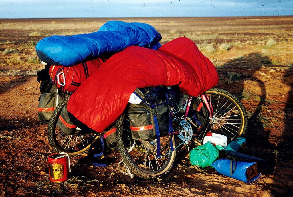 Sahara Durchquerung 1991, pilgern auf andere Art