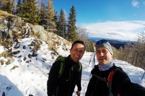 Mit Alexander Rüdiger am Schneeberg zur Pilger Besprechung 2016