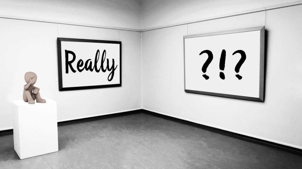 Fragezeichen - was will ich? Gedanken werden Realität!