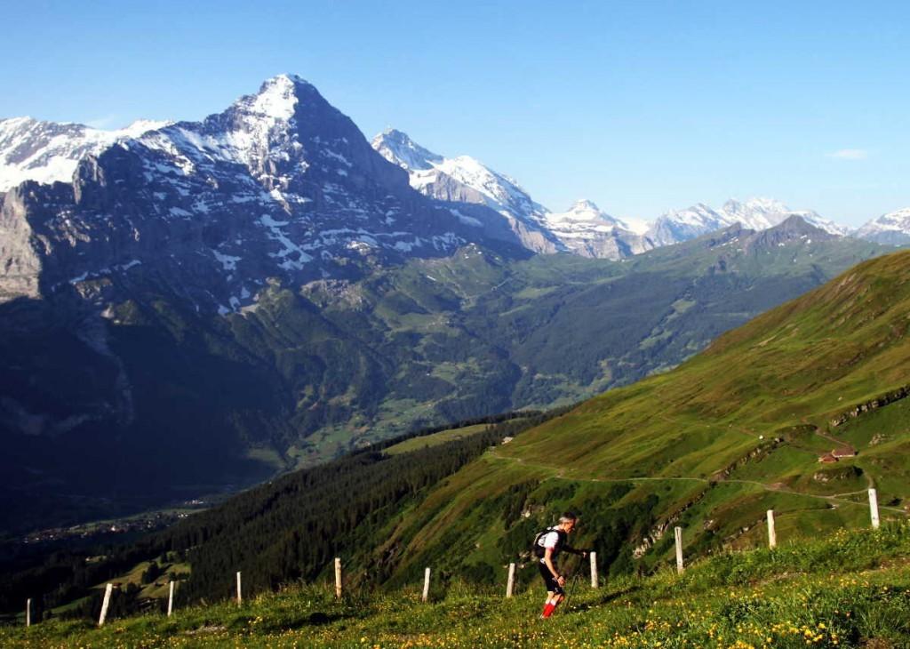 Mit Sport zurück ins Leben Eiger Ultra Trail, First