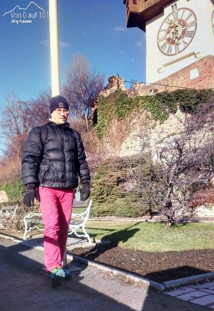 Gehen auf dem Schlossberg