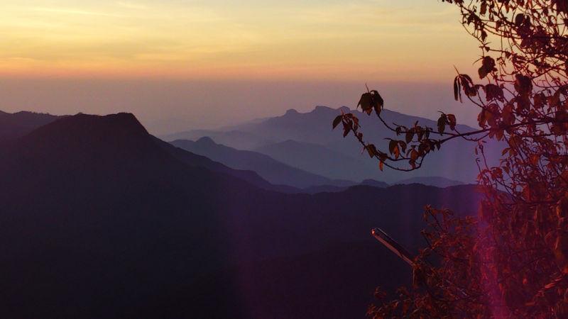 Aussicht vom Adams Peak