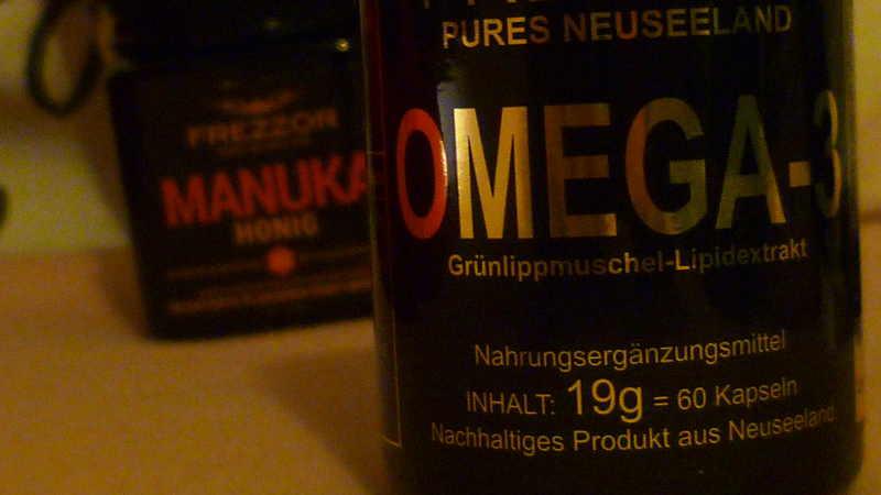 Omega 3 und Manuka Honig
