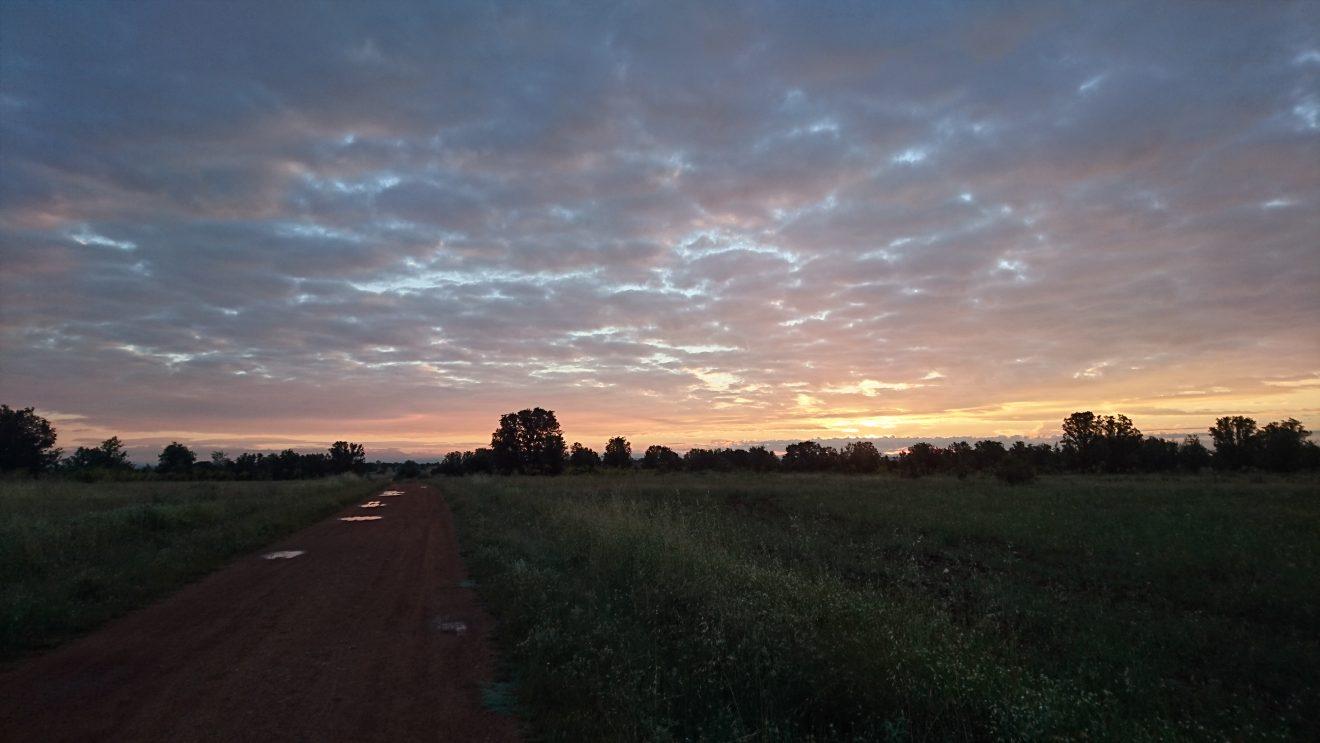 Sonnenaufgänge am Camino