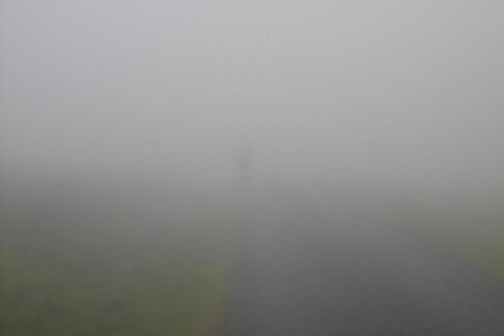 Nebel in den Pyrenäen