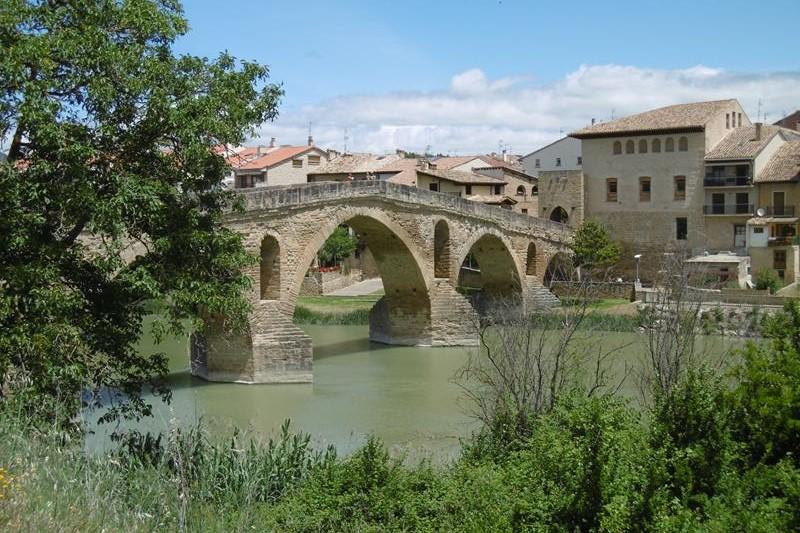 Brücke von Puenta de la Rena