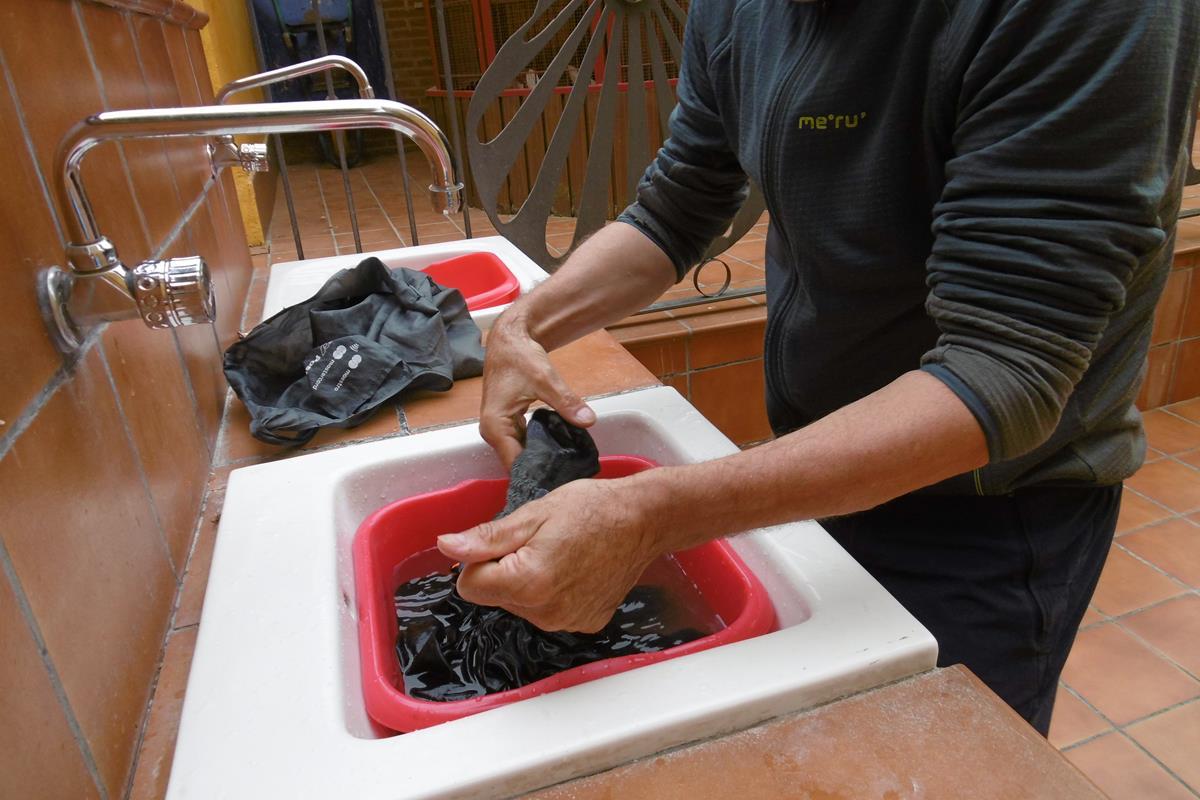 Ruhetag, Wäsche waschen