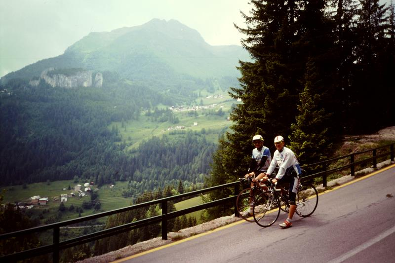 Trainingslager in den Dolomiten