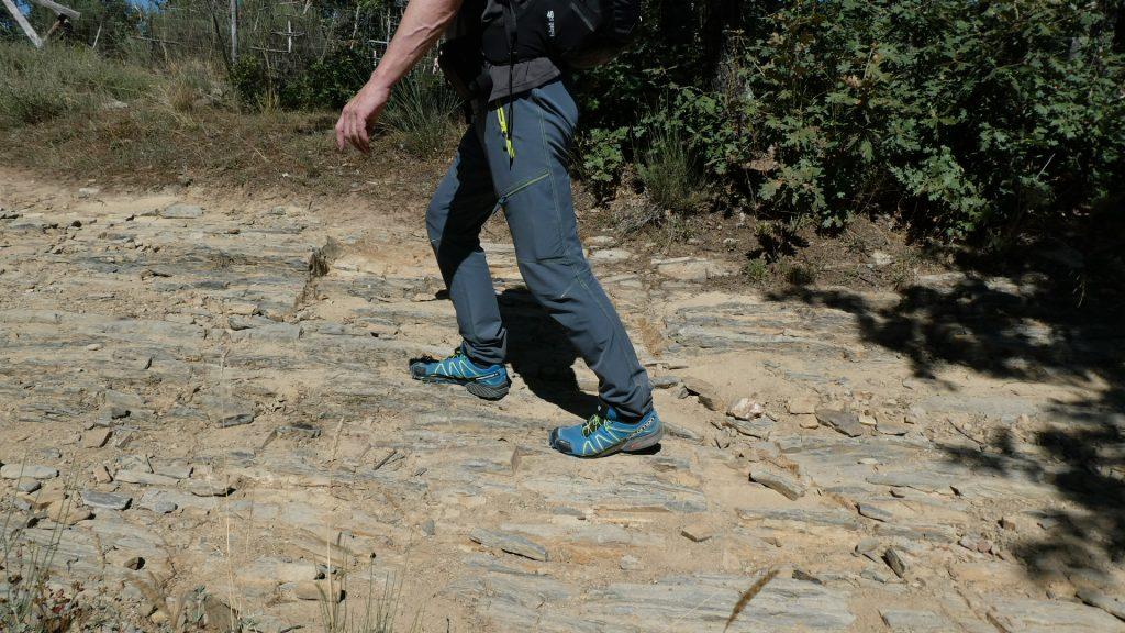 Trailrunning versus Jakobsweg