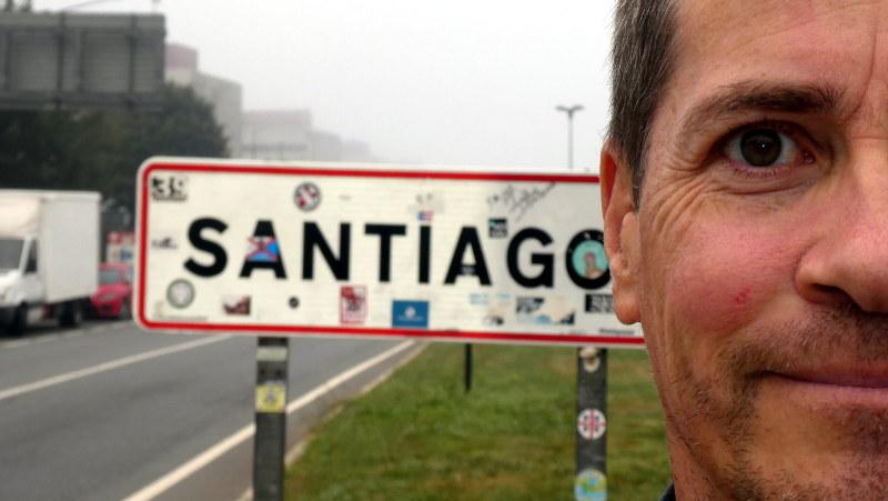 Ankommen in Santiago