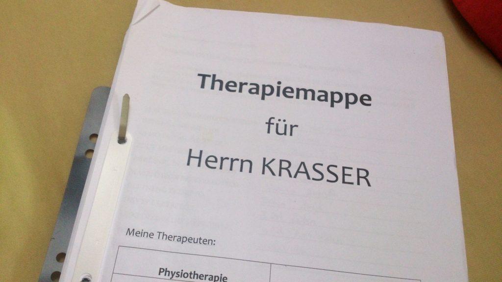 Meine Therapiemappe
