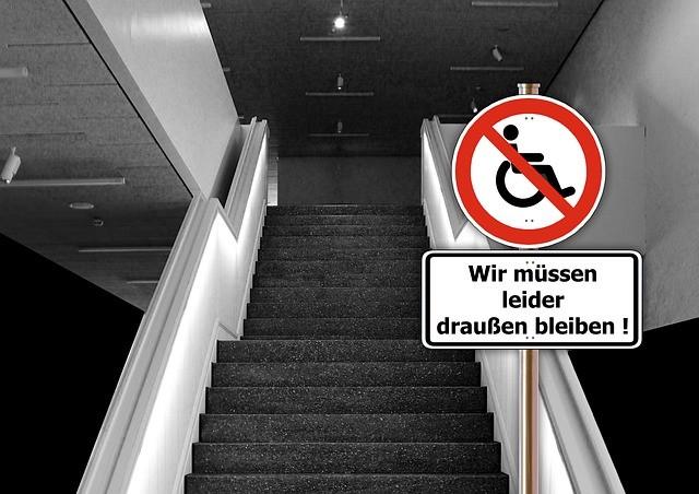 Mit Handicap bleibst du von vielem ausgesperrt