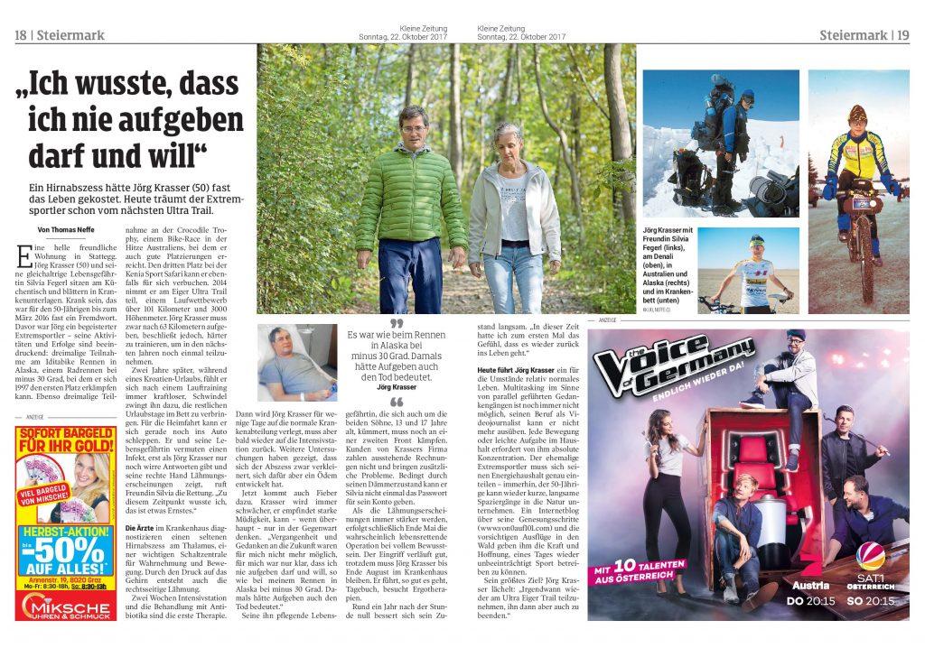 Kleine Zeitung, Krasser Jörg