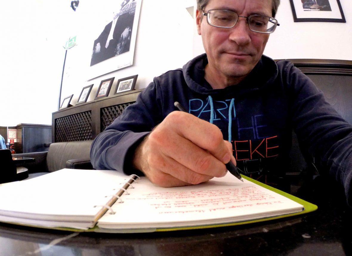 Schreiben im Cafehaus