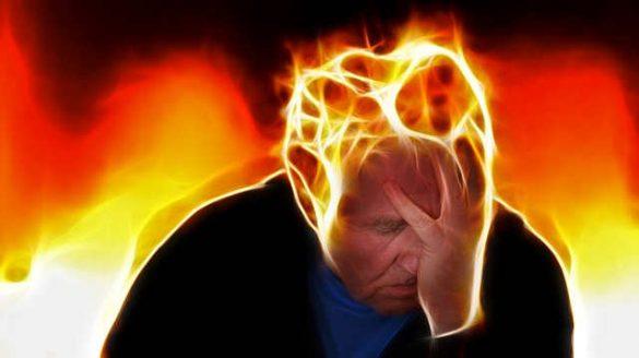 Stress beeinflusst die Faszien