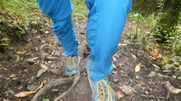 Fuß anheben, Erlebnisse beim Gehen