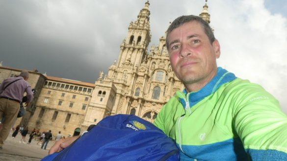 In Santiago, das Neue Leben am Camino