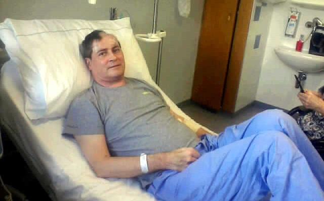 Mit Hirnabszess im Krankenhaus