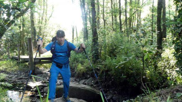 Balancieren, Pilgern als Reha am Camino