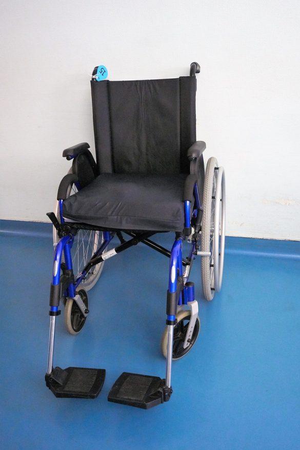 Ohne Rollstuhl geht nichts