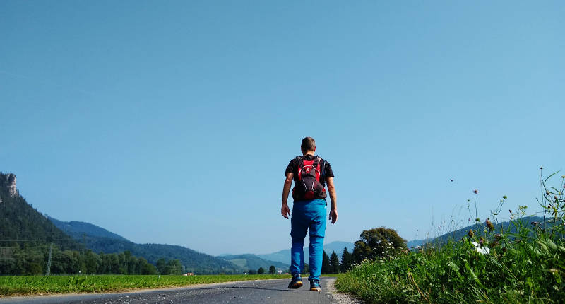 Auf Pilgertour