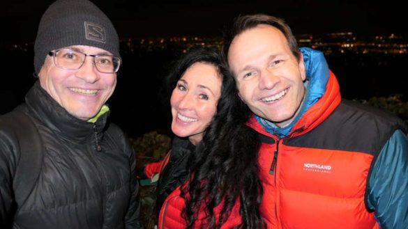 Mit Alexander und Ramona in Wien Silvester feiern.
