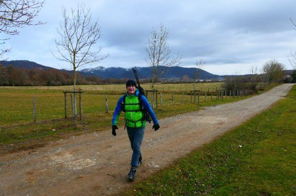 Am Camino, der Ausbruch
