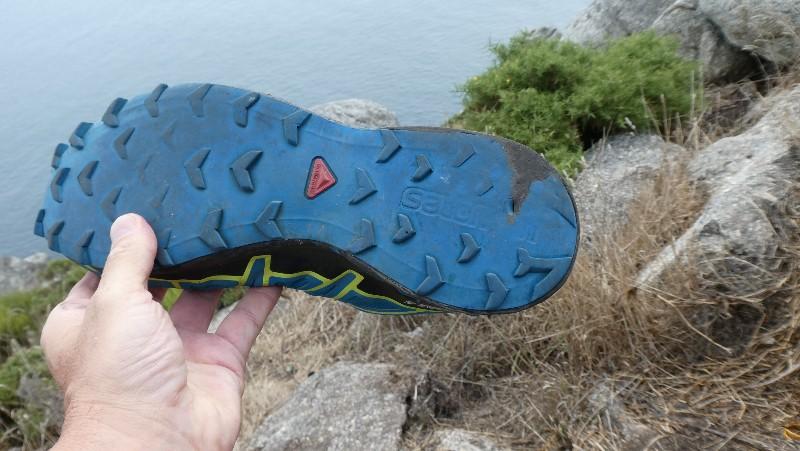 Meine Schuhe sind nach 1000 km am Ende
