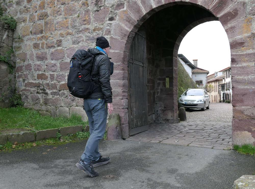 8 kg Rucksack und Ausrüstung