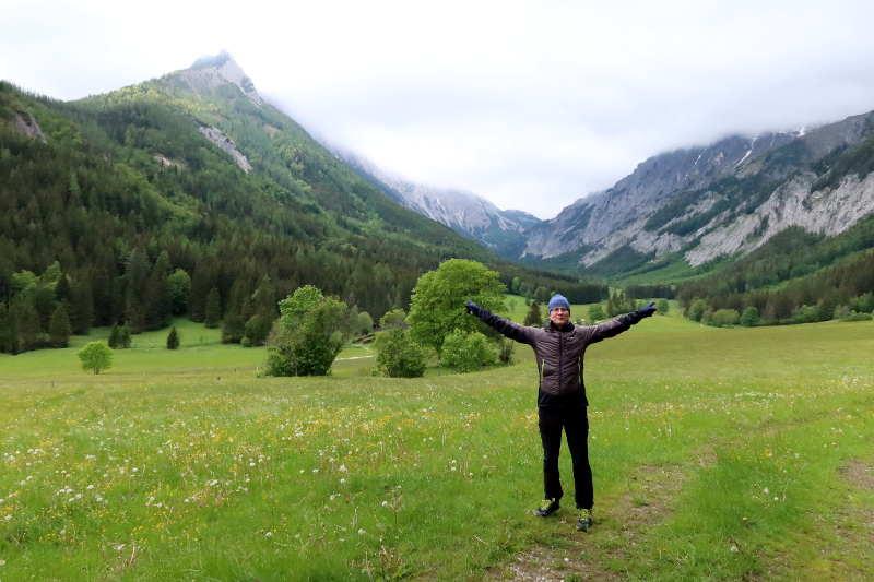 Pilgern und Zelten in Österreich
