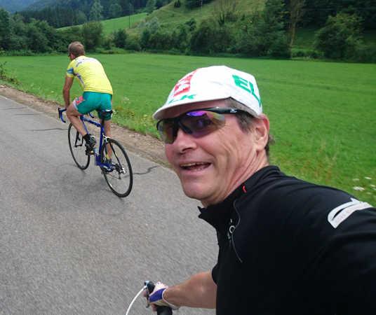 Unterwegs mit dem Straßenrad