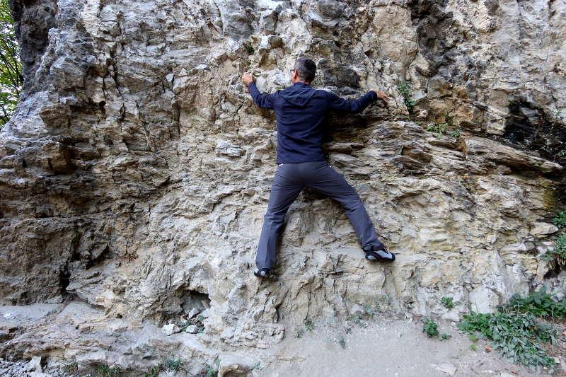Klettern als Therapie