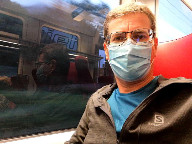Maskenpflicht im Zug