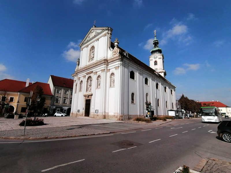 Kirche in Bruck am Leithagebirge