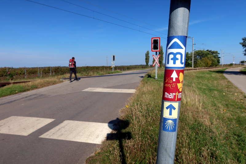 Start in Pamhag, am Jakobsweg Burgenland