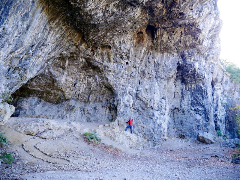 Klettern als Therapie im Zigeunerloch