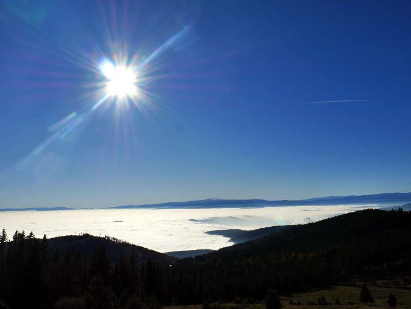Das Nebelmeer vom Schöckl