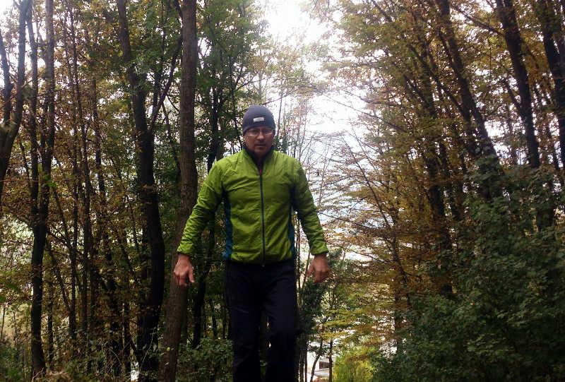 Mein erstes Selfie im Wald
