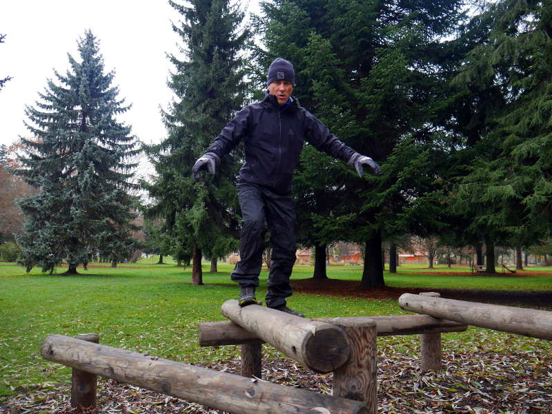 Üben im Balance-Park
