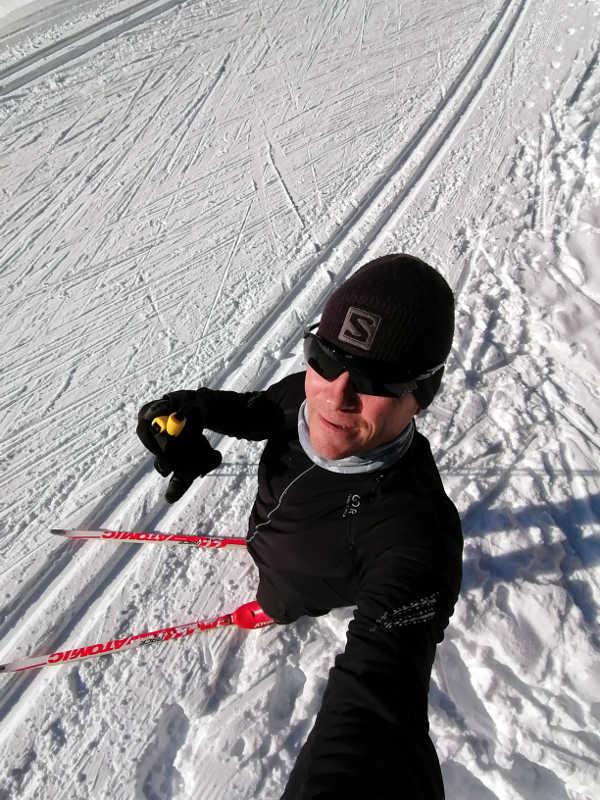 Neue Ski zum Langlaufen
