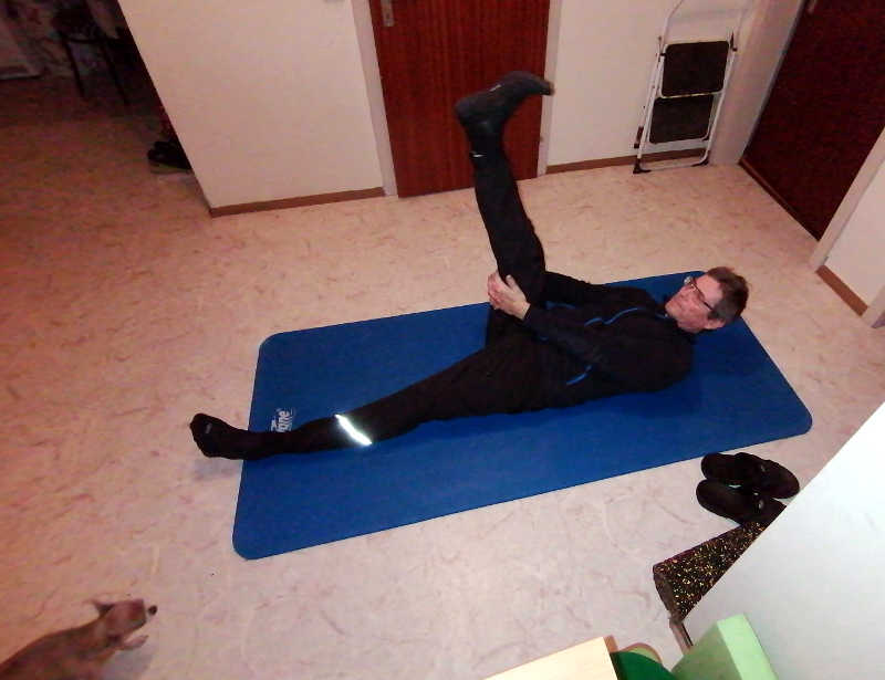 Stretching im Reha-Training